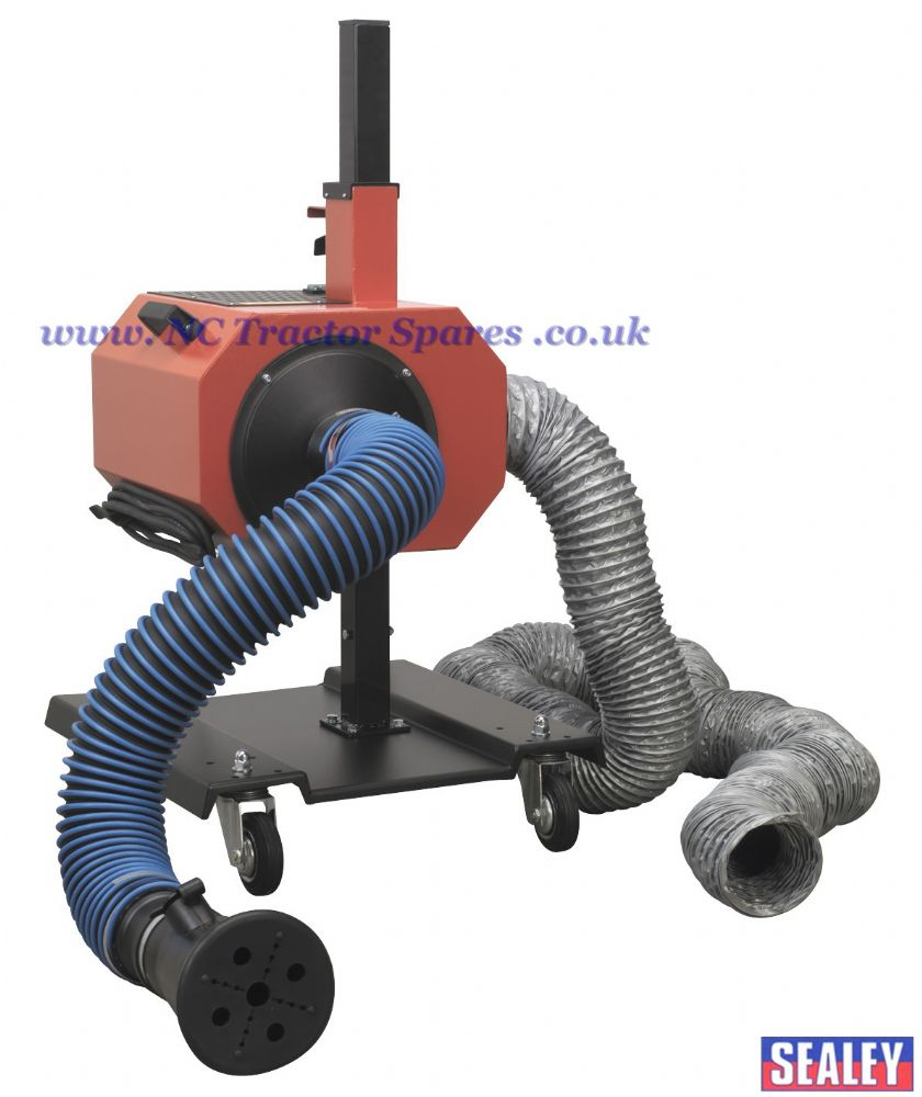 Exhaust Fume Extractor with 6mtr Ducting